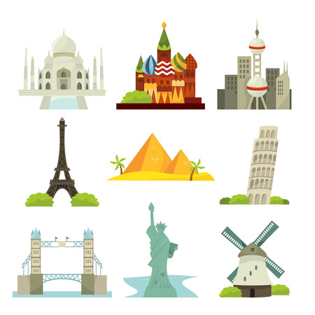 paris france: A vector illustration of jet-settingtravel around the worlds major cities. Illustration