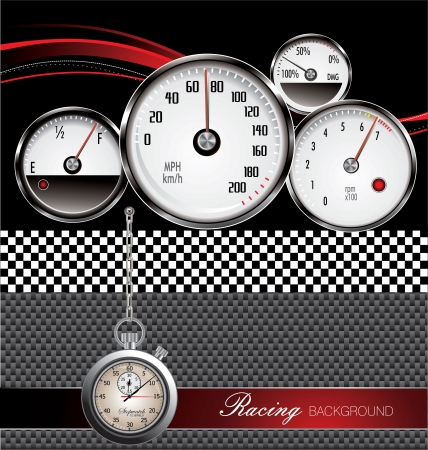 Racing background Stock Vector - 18768838