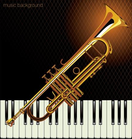 jazz dancer: Jazz music background