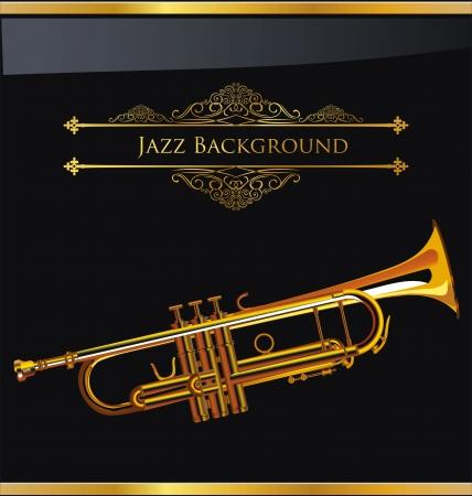 fanfare: Jazz Music background Illustration