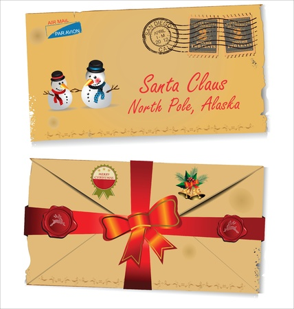 Letter to Santa Claus vector Stock Vector - 19051177