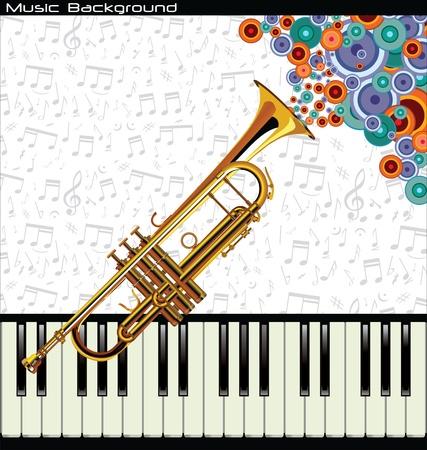 jazz dancer: Music background