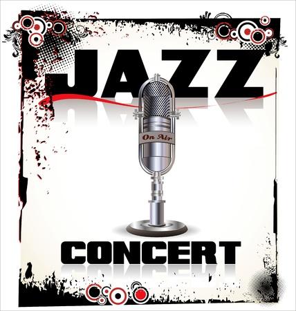 reflector: Jazz concert background