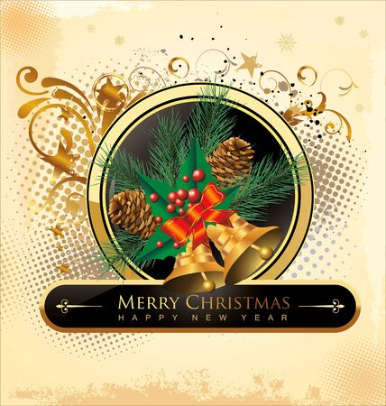 Christmas design background Vector
