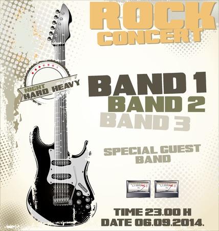 Rock concert background Stock Vector - 19051293