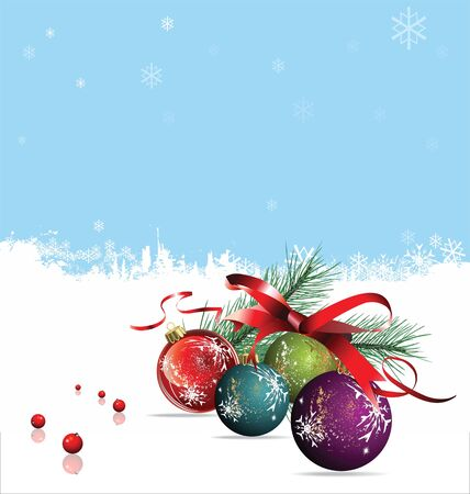 festive season: Christmas design Illustration