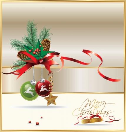 Elegant Christmas background Stock Vector - 19051289