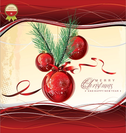 adorn: Feliz Navidad de fondo Vectores