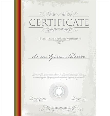 Certificate template Stock Vector - 19083495