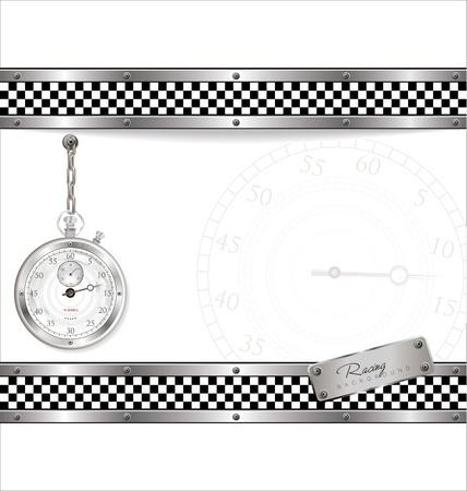 Racing background Stock Vector - 19083537