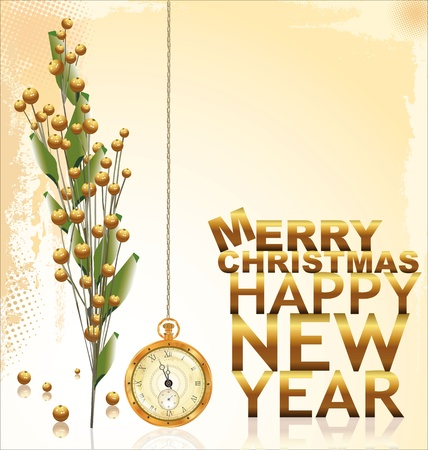 gold christmas background: Gold Christmas background