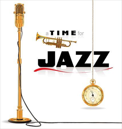 jazz singer: Jazz music background