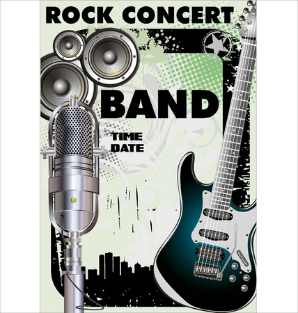 Rock concert - Public viewing Vector