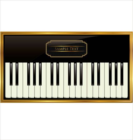acoustically: Elegant piano background
