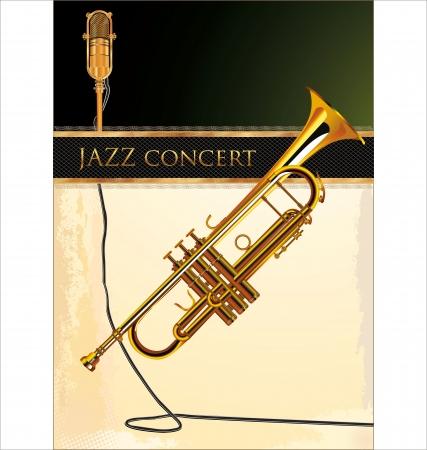 playbill: Jazz concert poster