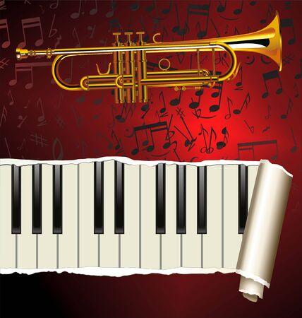 funk: Jazz Music Background