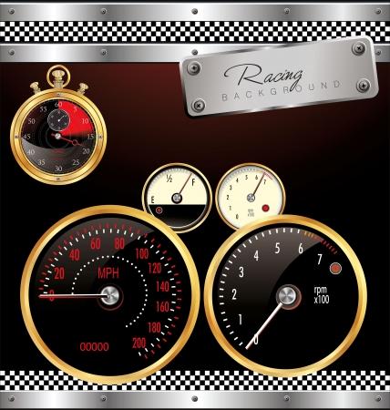 Racing Background Stock Vector - 19156235
