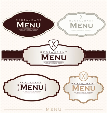 menu card design: Restaurant menu design