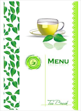 tea kettle: Tea menu