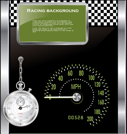 Racing background Stock Vector - 19462735