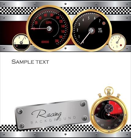 Racing background Stock Vector - 19462915