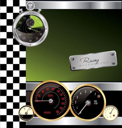 Racing background Stock Vector - 19462746