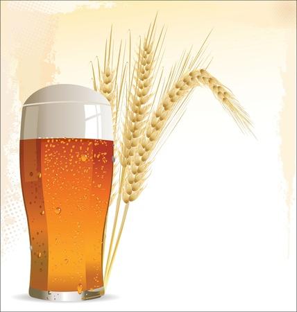 вал: Пива дизайна Иллюстрация
