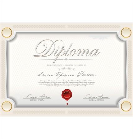 Certificate template Stock Vector - 19466051