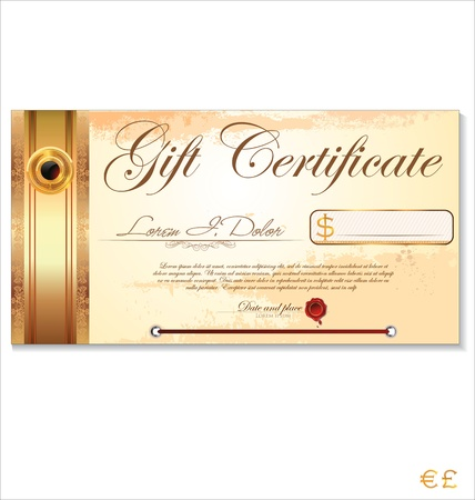 Certificate template Stock Vector - 19466065