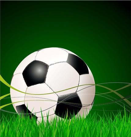 Soccer background illustration Vector