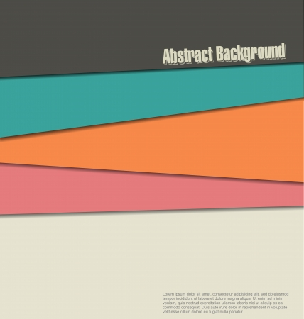 triangle button: Modern background Illustration