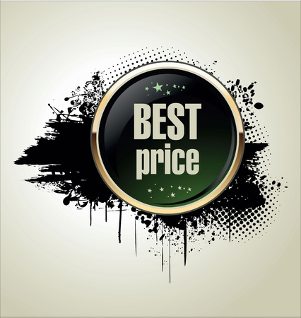 Best price grunge banner Stock Vector - 19510843