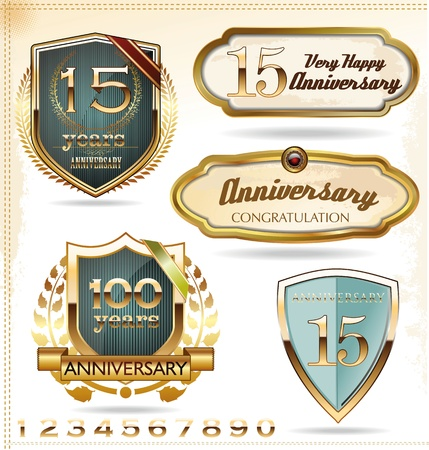 70 80: Anniversary labels