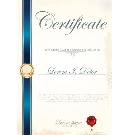 premi: Modello di certificato