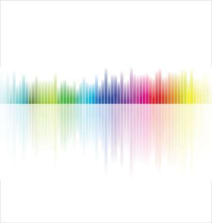 tab: Abstract colorful background