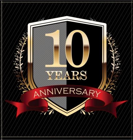10th: Anniversary golden label