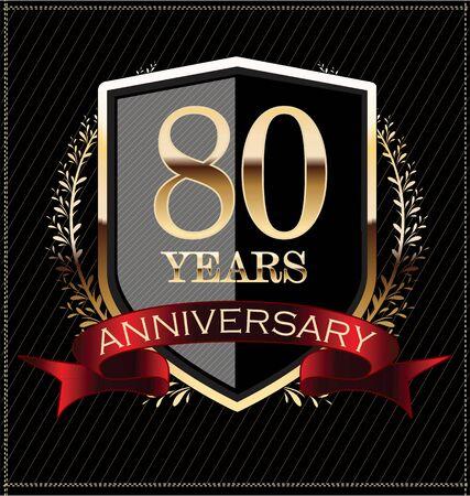 80 years: Anniversary golden label