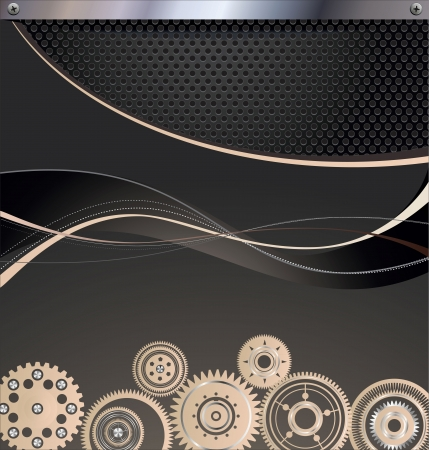 enterprise: Abstract gear background