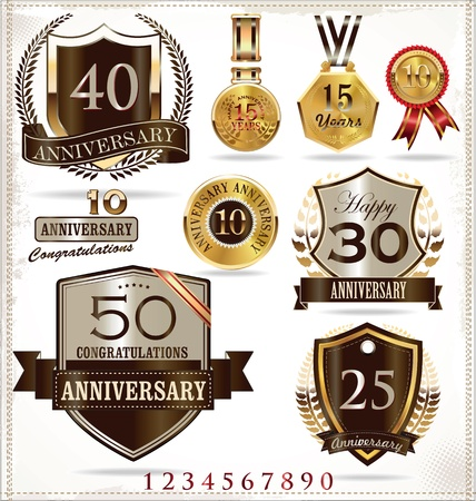 remembered: Anniversary labels