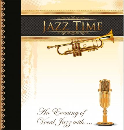 jazz modern: Jazz music background