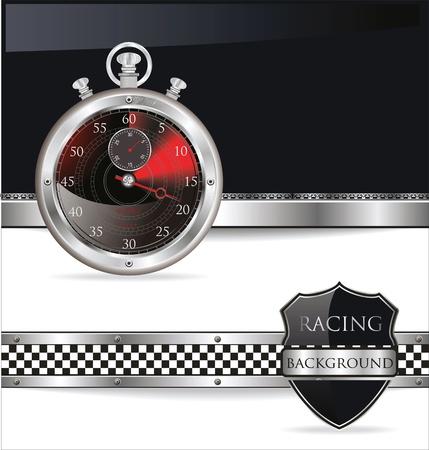 Racing background Stock Vector - 19566381