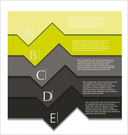 paper graphic: Modern design template