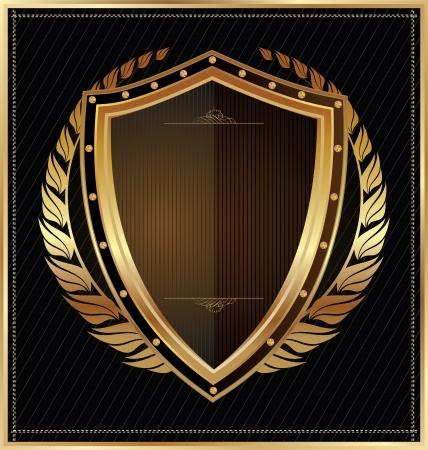 laureles: Escudo Vectores