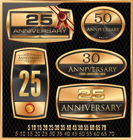gold age: Anniversary Golden label - set