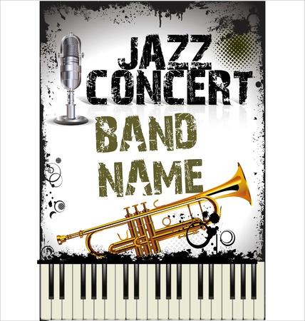 Jazz concert poster Stock Vector - 19566582