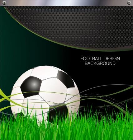 torwart: Fu�ball-Hintergrund Illustration