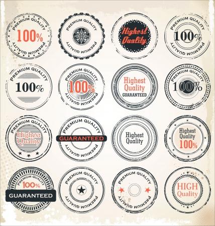 sale tags: Premium Quality Labels