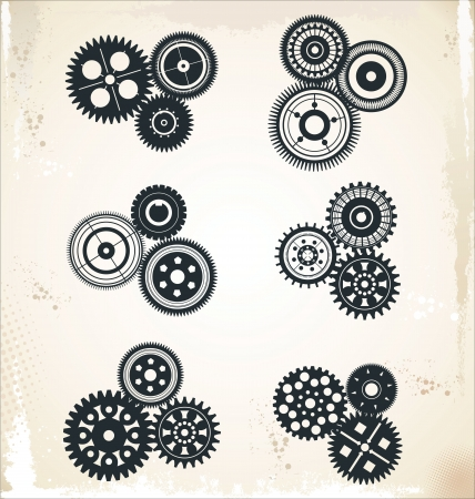 Diseño Gear Ilustración de vector