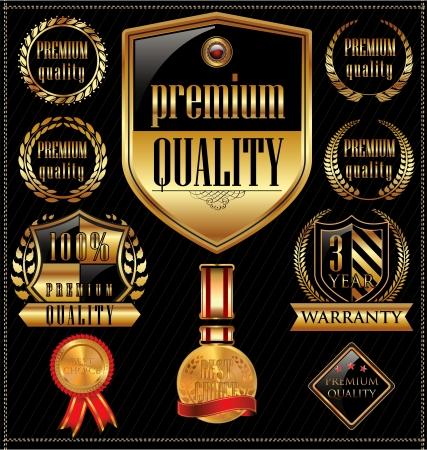 Premium Kwaliteitslabels Vector Illustratie