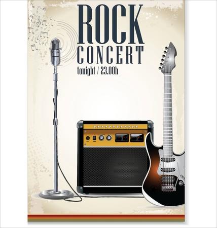 popular music concert: Musica di sottofondo - concerto rock